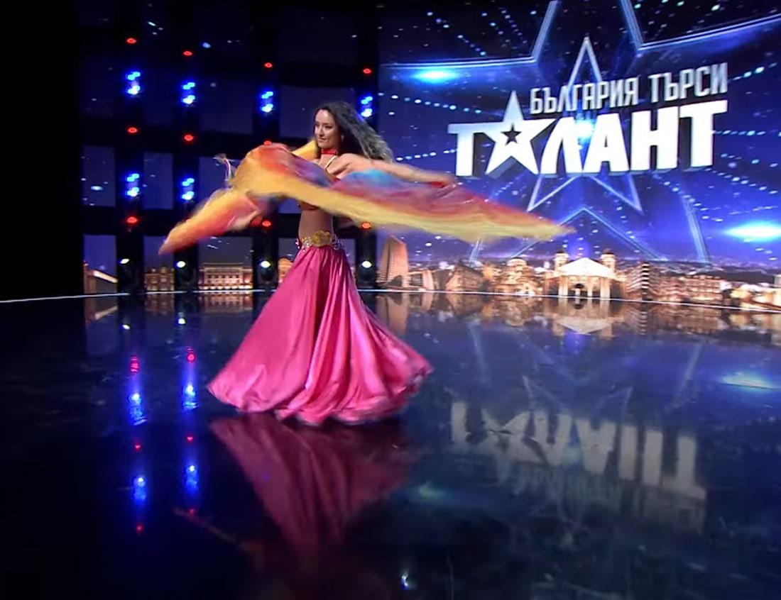 Boriana Dimitrova в България търси талант