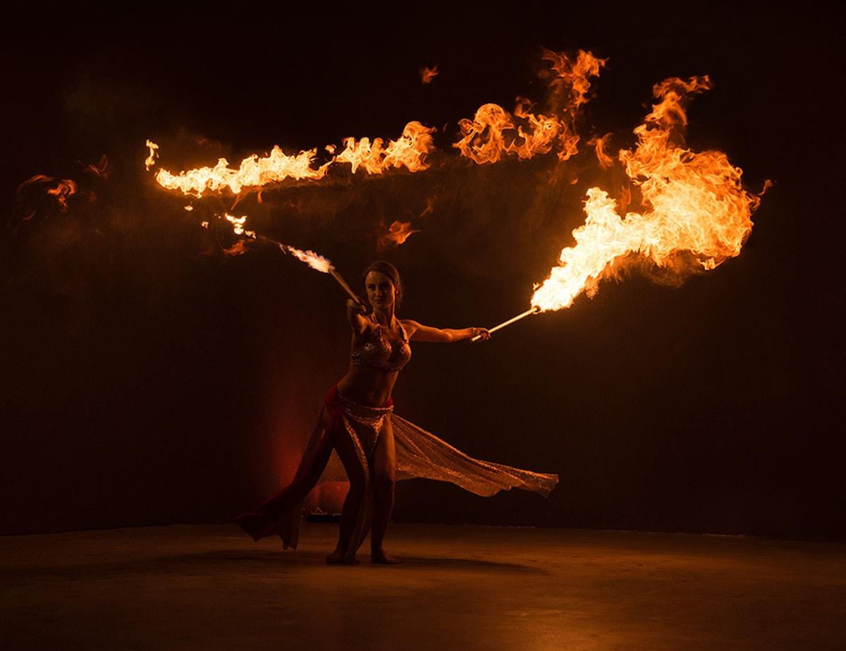 Огнено шоу за фирмени събития