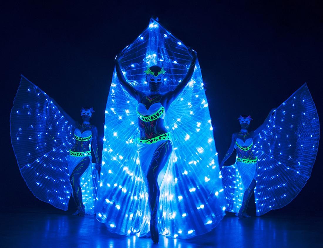 Светлинно шоу с UV техника